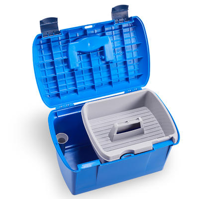Ящик для щёток синий FOUGANZA1