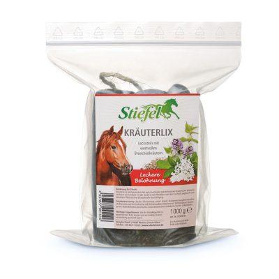Ласощі для коней, лизунець Krauterlix Stiefel