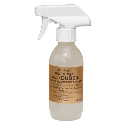 """Спрей антигрибковий для шкіряної амуніції """"Dubbin"""" Gold Label, 250 мл"""