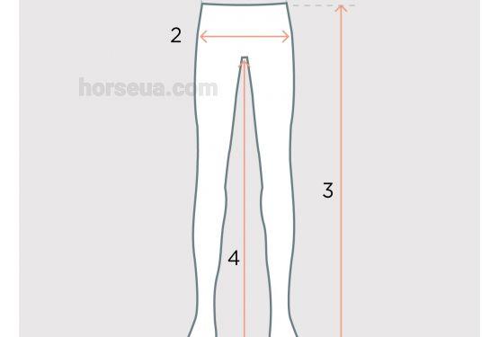 Как определить размер бридж для верховой езды
