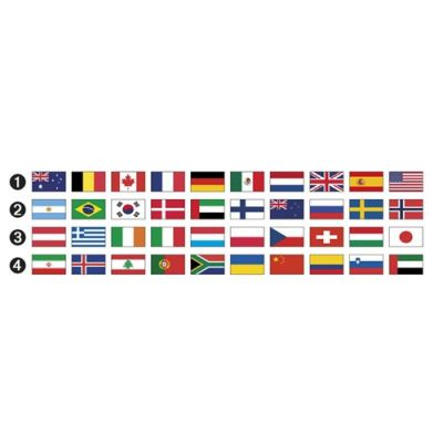 Набір прапорів для стремян Opera, Acavallo