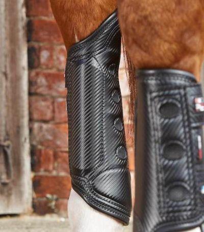 Ногавки на задні ноги Carbon Tech Air Cooled, Premier Equine